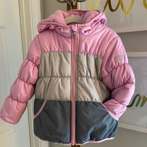 Carter's Winter Puffer Jacket - Pink - Girls Coat
